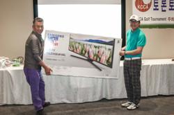 Raffle prize-TV