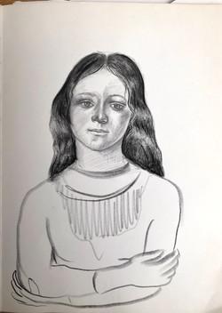 Botticelli girl, 2020