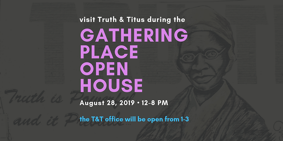 Gathering Place Open House
