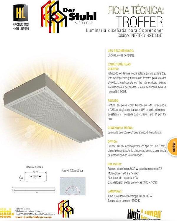 Luminaria para INIFED