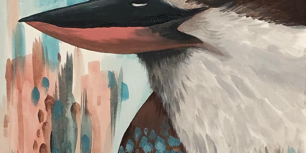 Paint with Shell - Kookaburra