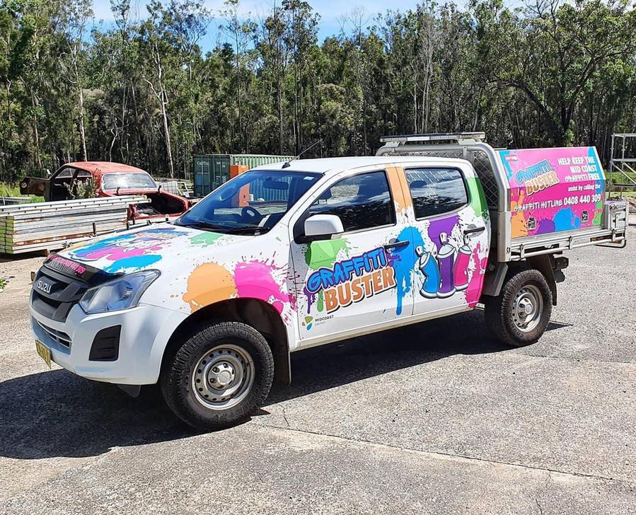 The Graffiti Buster