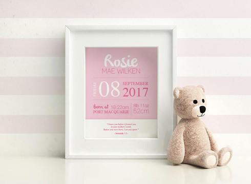 Baby Rosie