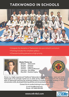 09d Seminars - TKD - Taekwondo In School