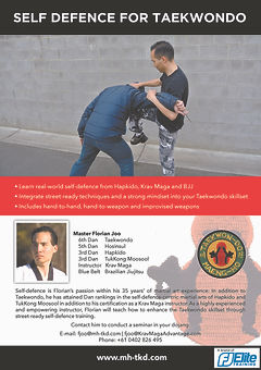 09c Seminars - TKD - Self Defence For Ta