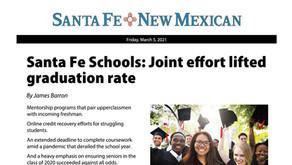Santa Fe Schools: Joint effort lifted graduation rate