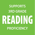 Supports 3rd grade reading proficiency