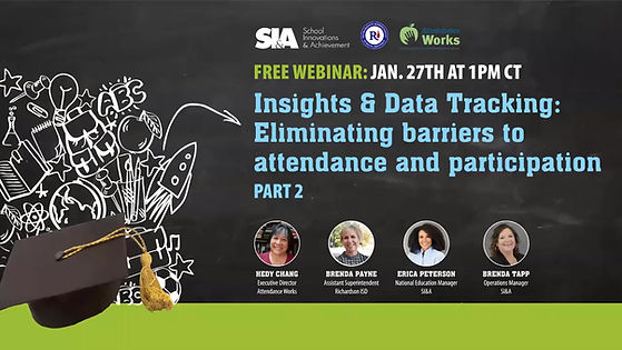 Insights & Data Tracking: Eliminating barriers to attendance and participation