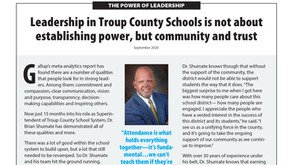 TROUP COUNTY SCHOOLS: Dr. Brian Shumate