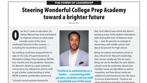 WONDERFUL COLLEGE PREP ACADEMY: Dr. Adrian Manuel