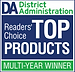 District Administration Reader' Choice Top Product Award