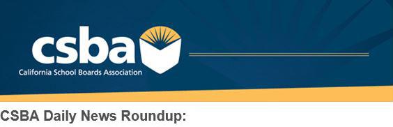 Logo for CSBA Daily News Roundup