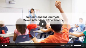Superintendent Shumate makes attendance the priority