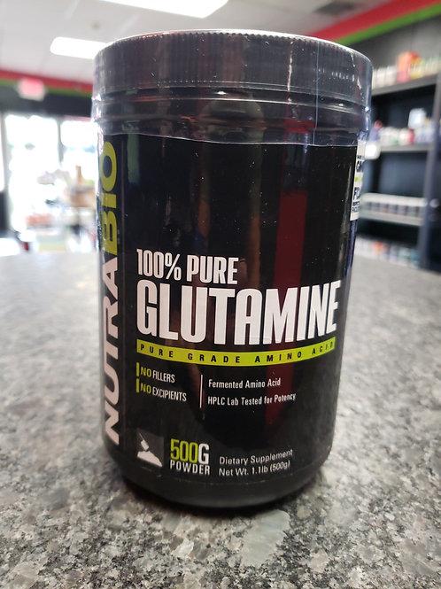 100% Pure Glutamine by NutraBio