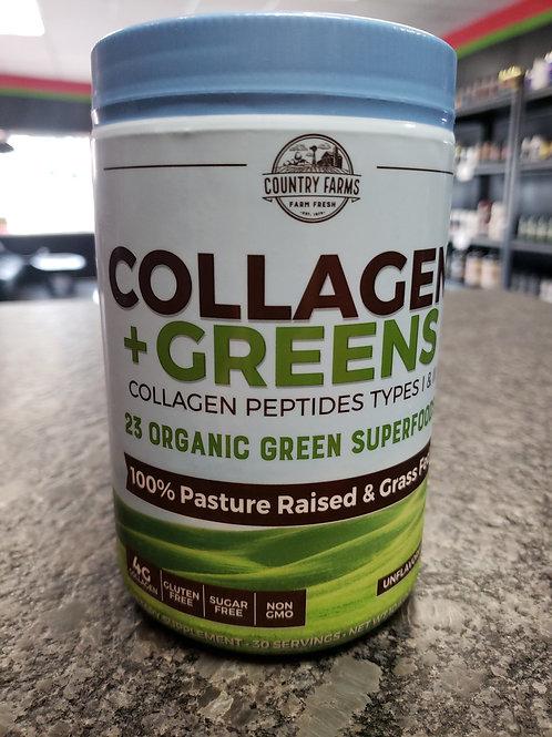 Collagen +23 Organic Greens