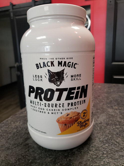 Black Magic Multy source protein +enzymes +MTC oil