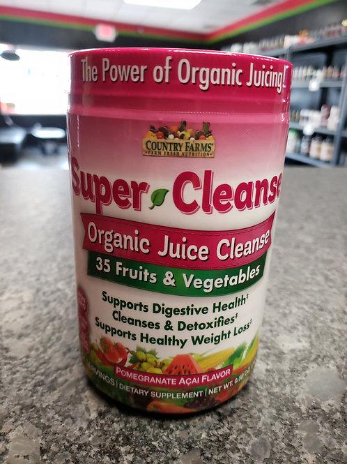 Organic Super Cleanse
