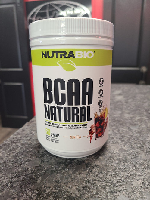All Natural BCAA by Nutrabio