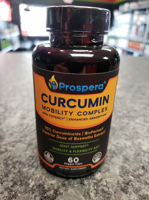 Curcumin Joint  mobility and flexibility