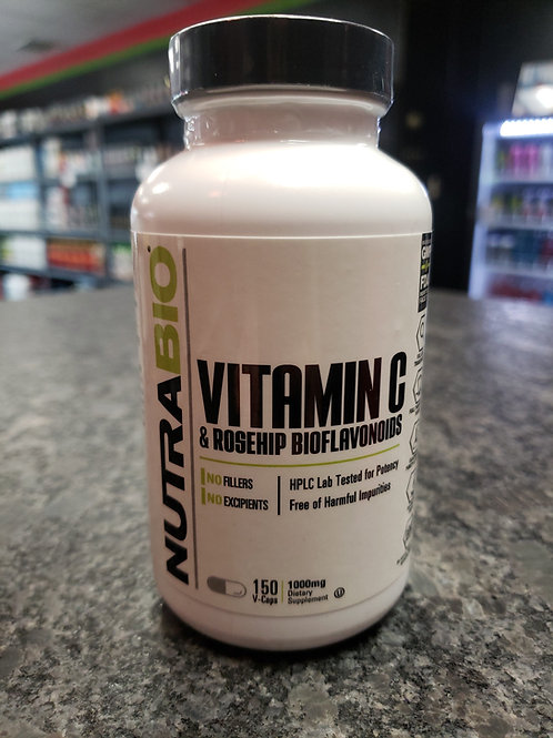 Vitamin C & Rosehip Bioflavonoids