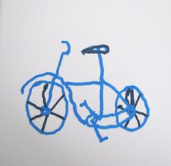 My Bike had Racing Handlebars