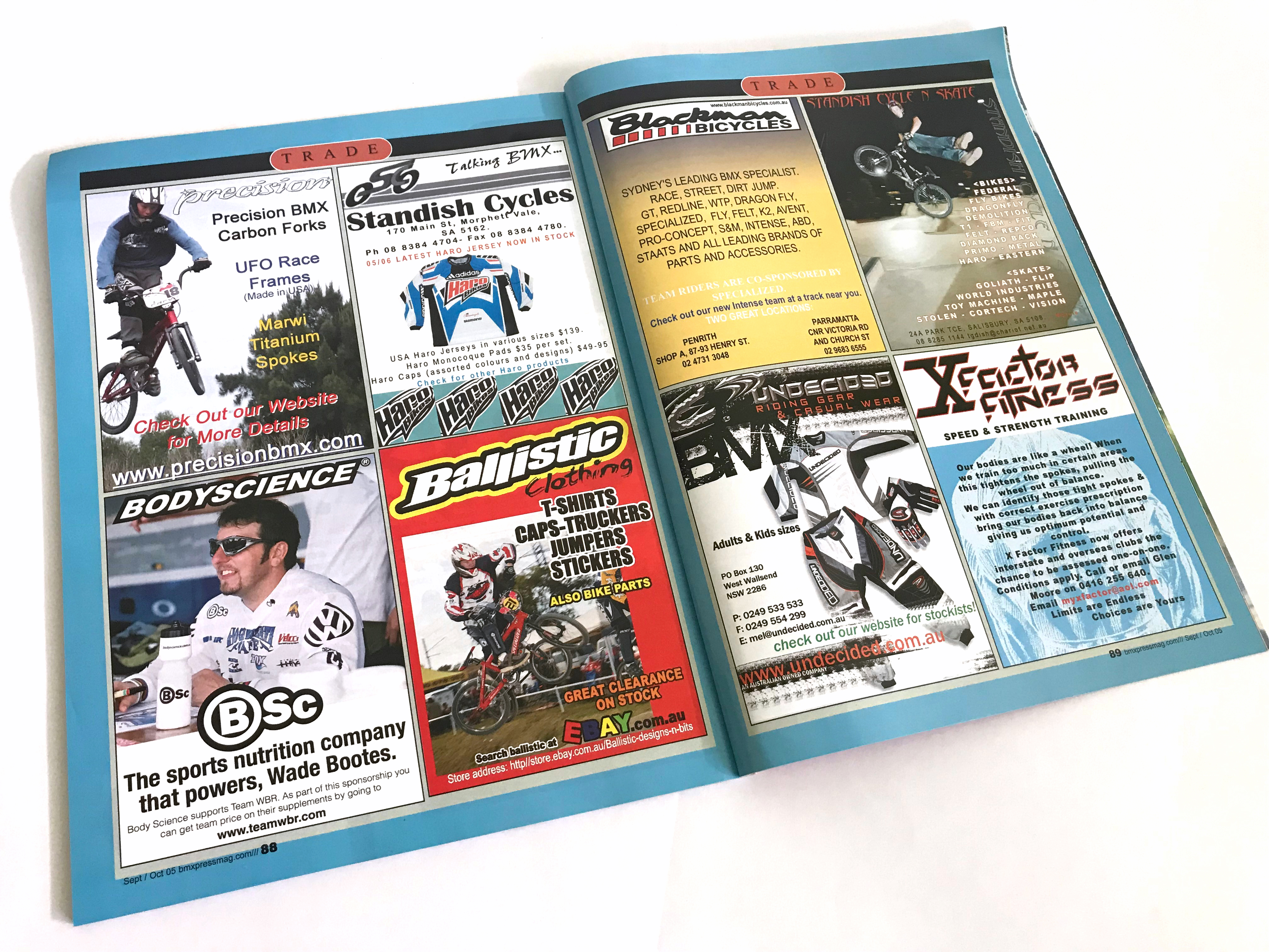Press Magazine Ad