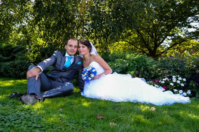 photo couple mariage parc - Studio photo Flash et moi lyon la mulatiere