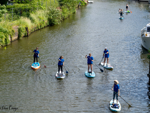 12 June 2021: river cleanup in Mechelen, a co-creation with SUP-conscious and river-cleanup