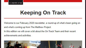 February 2020 Newsletter - Keeping On Track