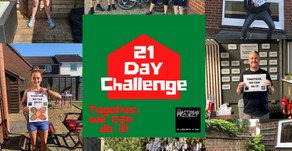 21 Day Challenge Completed