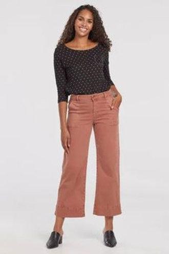 Audrey wide leg crop pants