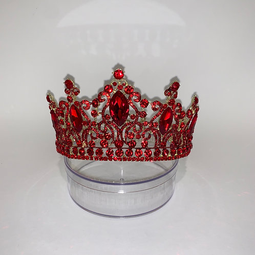 Red FULL Circle Crown
