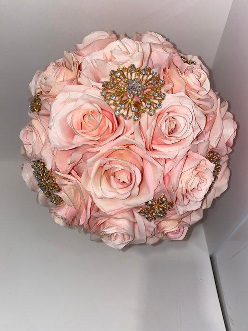 Blush & Gold Bouquet