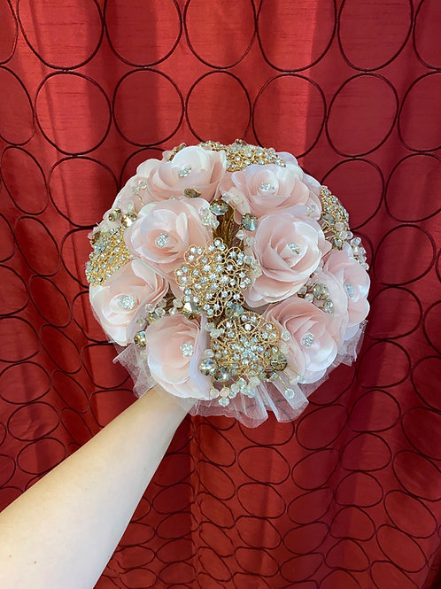 Blush with Gold bouquet