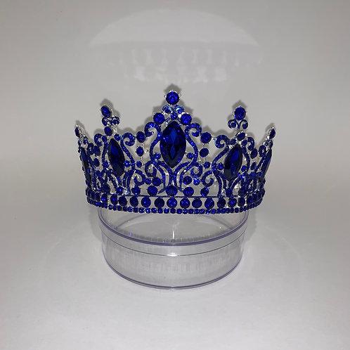 Royal Blue FULL Circle Crown