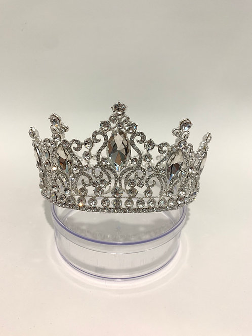 Silver FULL Circle Crown