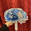Thumbnail: Sky Blue with Silver Bouquet