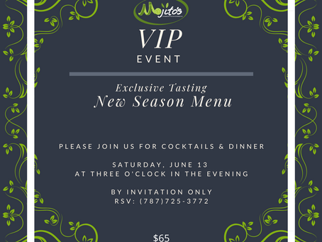 VIP Private Event, by invitation only