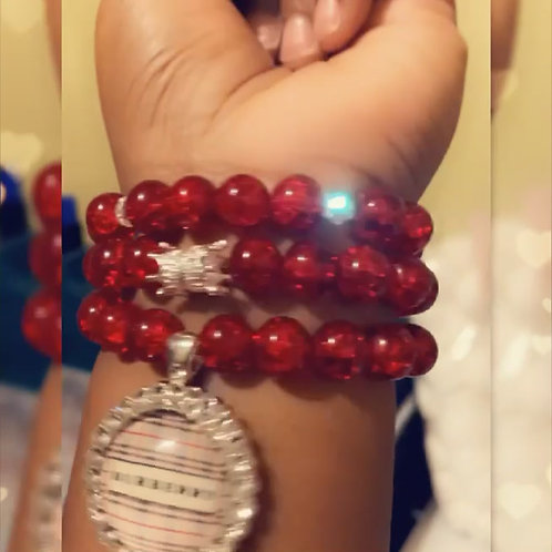 3 STACK WITH CHARMS CUSTOM