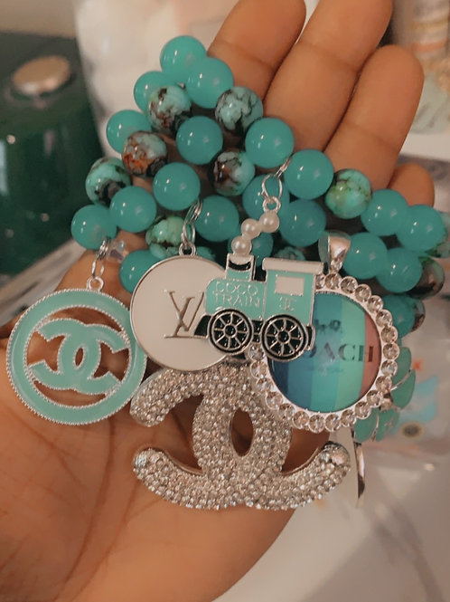 5 STACK W/CHARMS WHOLESALE