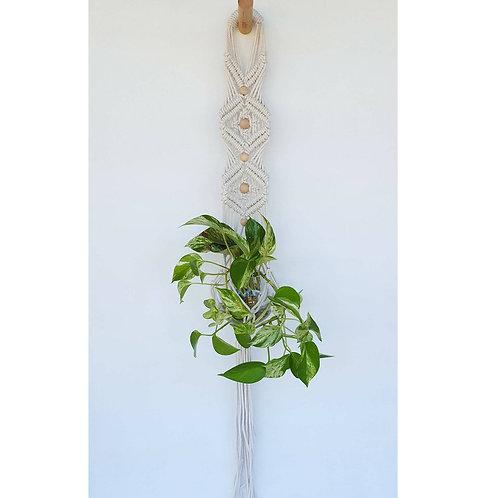 Macrame Plantenhanger wand