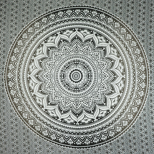 "Mandala kleed ""Black & White"""