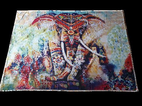 Kleurrijk Olifant Wandkleed