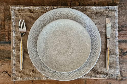 Mandala borden set 6 persoons