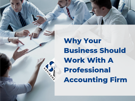 Why Your Business Should Work With A Professional Accounting Firm