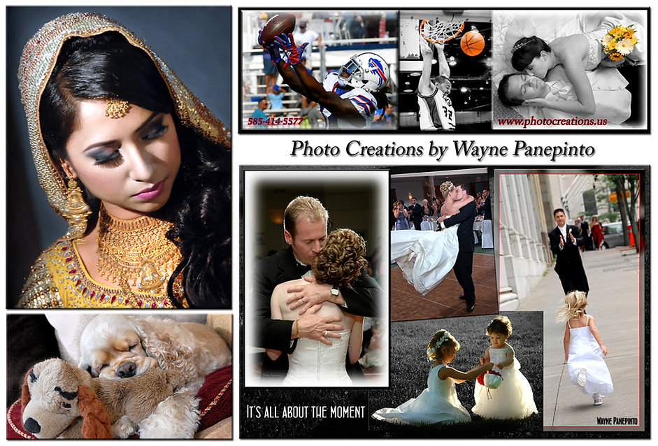 It's all about the monents in photography. Covering any event, wedding, portraits, pets or a sports action image. Timing is everything!