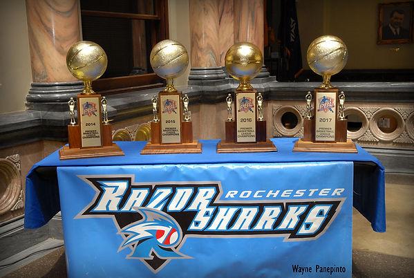 Rochester Razor Sharks Celebrate 2017 Championship