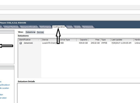 Quick steps to add a new datastore HD to your VMWare server.