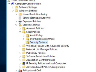 Can't run apps as a built-in administrator in Windows Server 2016.