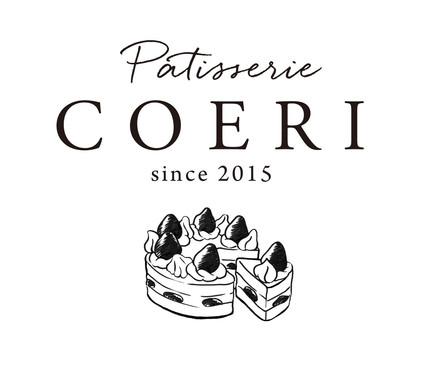 『Patisserie COERI』ロゴデザイン